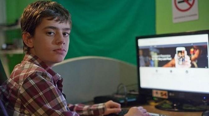 Un petit génie grec de 12 ans va concurrencer Facebook