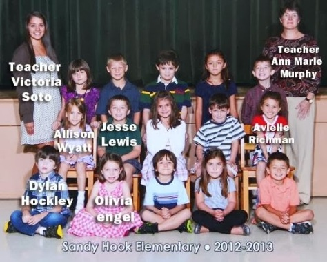 Sandy Hook class photo