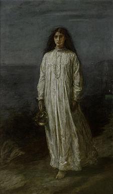 La somnambule de John Everett Millais