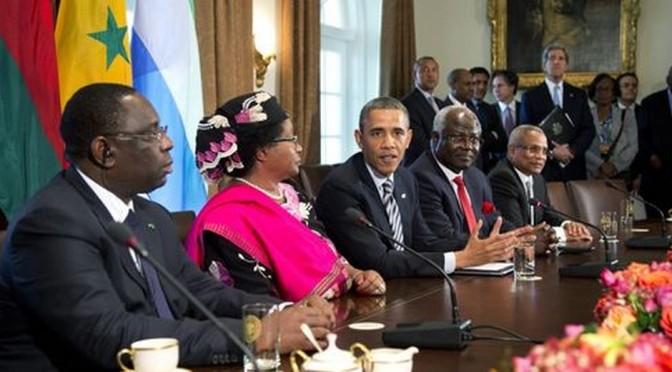 USA – Afrique. Un autre sommet de la honte