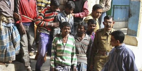 Les hommes arrêtes après le viol collectif