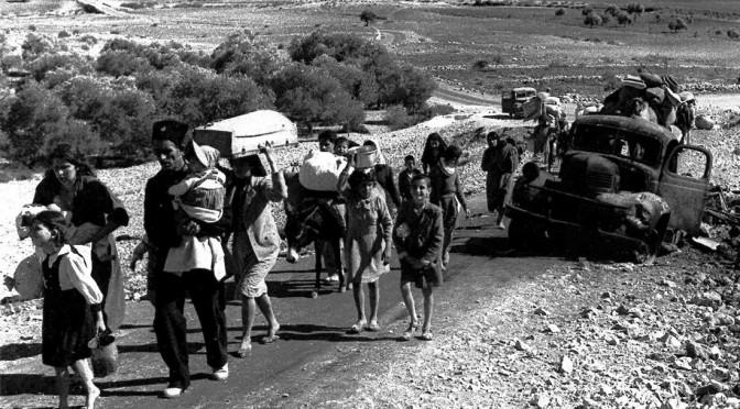 Pour les Palestiniens, al-Nakba n'a pas pris fin en 1948
