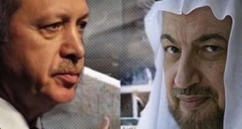 Recep Tayyip Erdoğan et Yasin al-Qadi