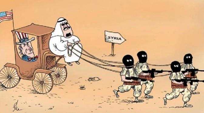 La guerre saoudienne en Syrie vue par les Saoudiens !
