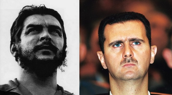 Bachar al-Assad, nouveau Che Guevara !