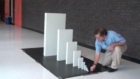 Domino-Chain-Reaction