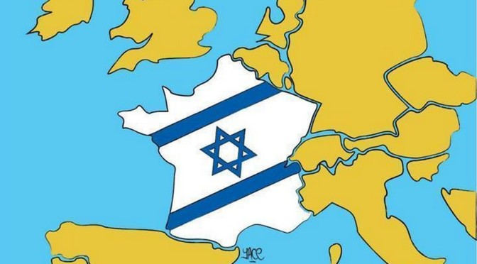 Israël agit de l'intérieur de l'état pour casser la résistance au sionisme en France