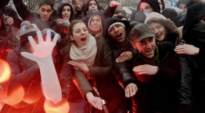 Jour de Colère : les français ont manifesté dans la joie et la bonne humeur