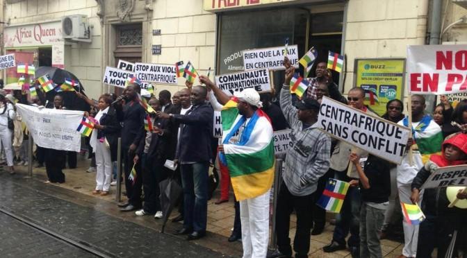 CENTRAFRIQUE : APPEL A MANIFESTER LE SAMEDI 08 FÉVRIER 2014 PARIS PLACE DE LA RÉPUBLIQUE