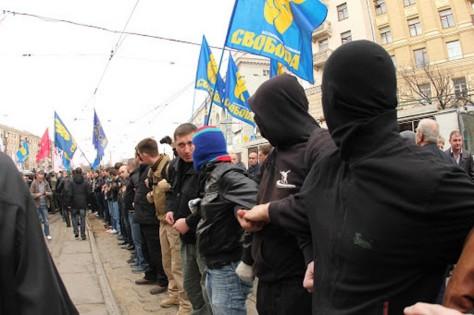 Svoboda_rally_human_chain
