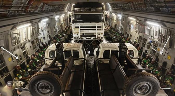 L'US Air Force plus actif que jamais en Centrafrique