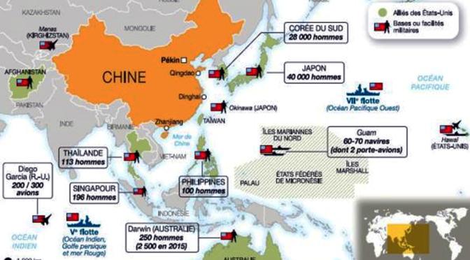 USA – Intensification des préparatifs de guerre contre la Chine