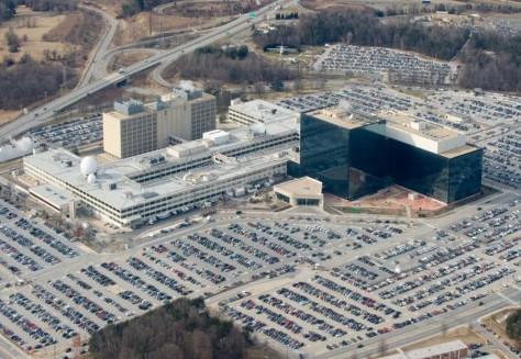 Le QG de la NSA à Fort Meade, dans le Maryland (USA) – Photo Saul Loeb/AFP/Getty Images