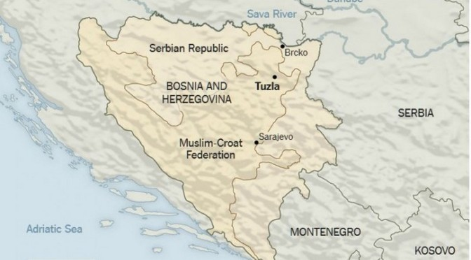 Les causes des protestations en Bosnie sont à chercher dans les Accords de paix de 1995