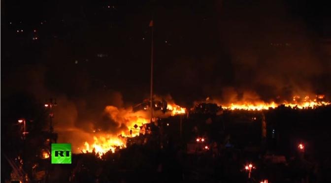 Ukraine : Nuit d'enfer à Kiev