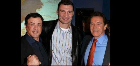 Klitschko - Schwarzenegger - Stalone