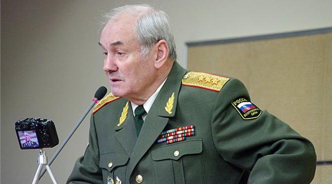 Général russe: La Russie en état de guerre !