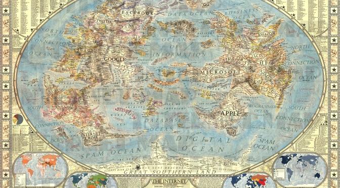Magnifique carte d'Internet ultra détailée !