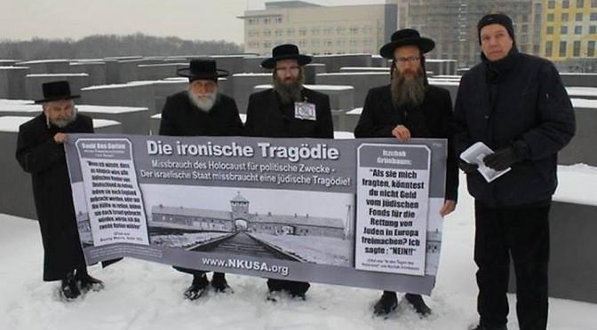 Ce que l'Elysée n'osera jamais faire : Des Juifs antisionistes reçus à la chancellerie allemande!