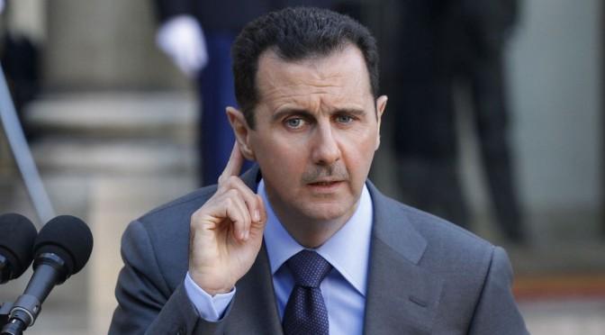 Les Etats-Unis et l'ONU ont-ils la crainte qu'Assad gagnent démocratiquement les futures élections syriennes ?